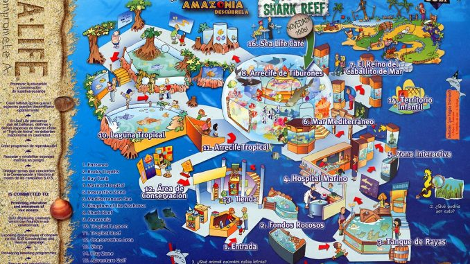 map-sealife-benalmadena
